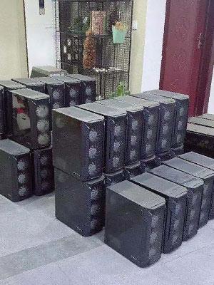 江宁区浩悦网吧回收案例-电脑回收 南京电脑回收 二手电脑回收